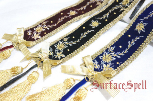 Bourbon Dynasty Series Baroque Embroidery Lolita Head Belt