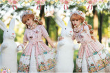 Long Ears & Sharp Ears Lolita ~The Companion In the Forest Lolita OP -Ready Made