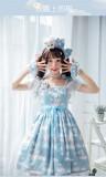 Cats On the Cloud~ Sweet Lolita JSK Dress -Limited QTY!!!