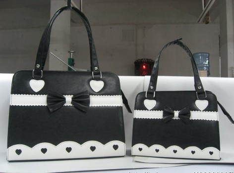 Pretty Bow Hearts Lolita Bag Pink - IN STOCK