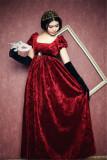 Juliet~ Gothic High Waist Jaquard Lolita OP
