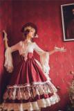 Miss Point ~ Elizabeth~ Elegant Lolita Fishbone Skirt Tea Party Version -Custom Tailor Available