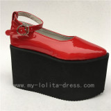 Sweet Classic Lolita High Platform Flats Shoes
