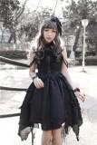 Undead waltz~ Punk Style Lolita JSK Dress