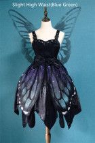 The Butterfly Effect ~Punk Halloween Lolita JSK -Ready Made
