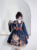CEL Lolita ~Kaiseki Island Lolita JSK Slight High Waist -Pre-order Closed
