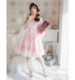 Magic Tea Party ~Swan Lake~ Classic Lolita OP/JSK-Ready Made