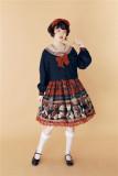 Navy Little Sweetener Windbreaker~ Vintage Sailor Style Lolita Coat