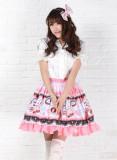 Strawberry Printed Skirt