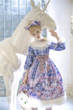 Miss Point ~ Elizabeth Meow ~ Daily Wear Lolita OP/JSK -Custom-tailor Available