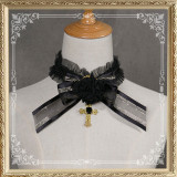 Cutie Creator ~Ode to Traveller~ Rose Cross Gothic Lolita Choker