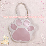 Milky Way ~ Meow~ Sweet Cat Claws Lolita Handbag/Shoulder Bag + Pouch -Ready Made