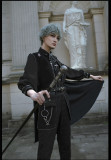 Susin Lolita ~Alpha Military Lolita Blouse/Corset/Cape/Skirt/Pants
