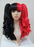 Black Red Distinctive Lolita Cosplay Wig