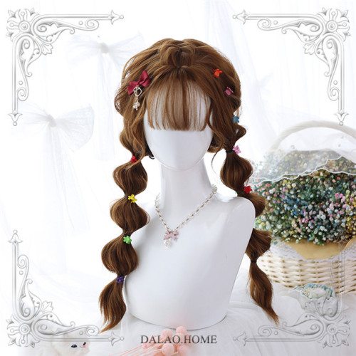 The Deer ~Sweet Long Curls Wigs