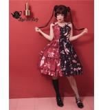 Chocolate Bunnies~ Sweet Lolita Jumper -Pre-order
