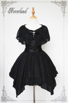 The Dead Serenade~ Gothic Lolita JSK Dress With Detachable Hood