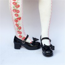 Classic Bow Lolita Shoes