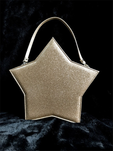 Sweet  Night Sky Five-pointed Star Lolita Bag - 2 Ways