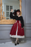 Miss Point ~Mrs Jennifer Velvet Lolita Skirt