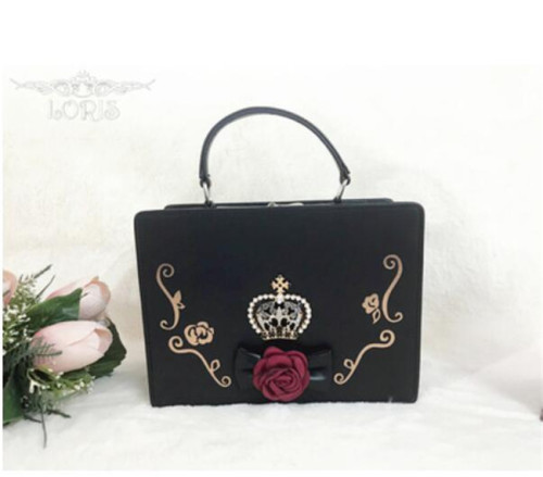 Loris~ Crown Gothic Lolita Handbag