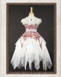 Reflection Church~ Gothic Lolita Printed JSK Dress -Ready Made