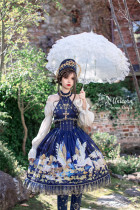 AD Lolita ~Unicorn Normal Waist Lolita JSK -Ready Made