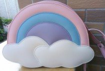 Sweet Rainbow Cloud Lolita Shoulder Bag
