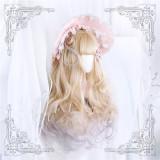 Annabelle~ Cheese Taro Long Curls Lolita Wig