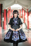 Peach Blossom&Cranes~Qi Lolita JSK -Ready Made