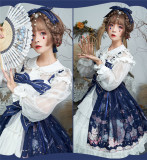 2019 Sweet Winter Printed Lolita JSK