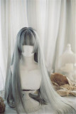 Encounter with Charlotte~ Sweet Natural Long Straight Lolita Wig 22cm/26cm