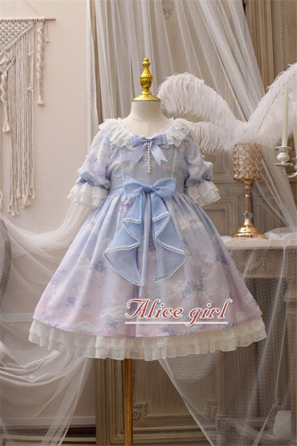 Alice Girl ~Unicorn~ Lolita OP/JSK for Kids