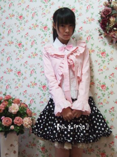 Sweet Barbie Pink Lolita Mini-Jacket