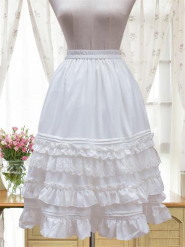 Chiffon Tailored Lolita A-shaped Lolita Skirt/Petticoat