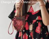 Morning Glory ~Rotten Strawberry Lolita Bag -Ready Made