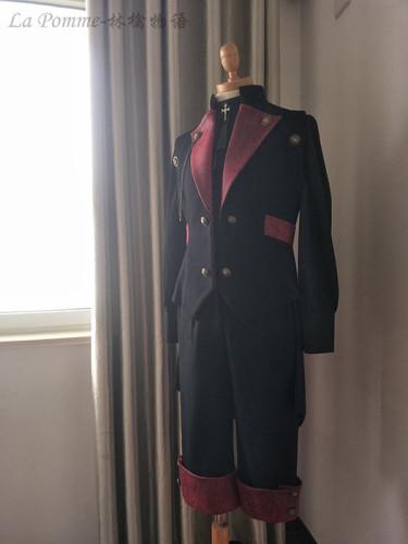 Mr Lion ~Ouji Lolita Vest+Pants Set Female/Male Version Custom-tailor Available