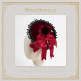 The Witch's House~Halloween Velveteen Lolita Witchhat