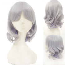 Lady's Light Grey Sweet Short Lolita Wig