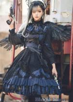 Lingxi Lolita ~Blood Hunt Dark Gothic JSK -Pre-order