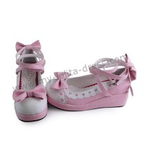 Sweet Princess Shoes Bows Hearts White Trim