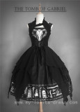 The Tomb of Gabriel~ Gothic Lolita JSK+Vest