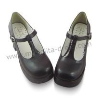 Black Classic Lolita Summer Footwear