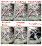 Moira~ Lolita Short Sleeves OP Dress -Ready Made
