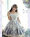 Nightmare Spells~ Lolita JSK Dress With Back Open Design
