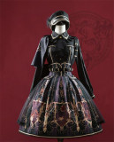 The Elegy of Valkyrie Series Lolita Skirt Fullset -Pre-order