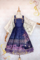 IchigoMiko ~Night Sakura Krathong~ Lolita JSK Dress Version II -Pre-order