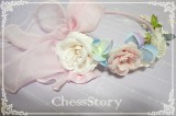 Chess Story -Peachblossom and Snow- Lolita Long Sleeves Blouse