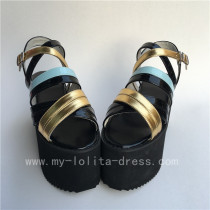 Colorful Candy Colors Straps Lolita Sandals