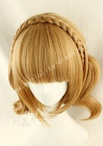 Sweet Brown Face Framing Short Bobo Wig 2 Ponytails